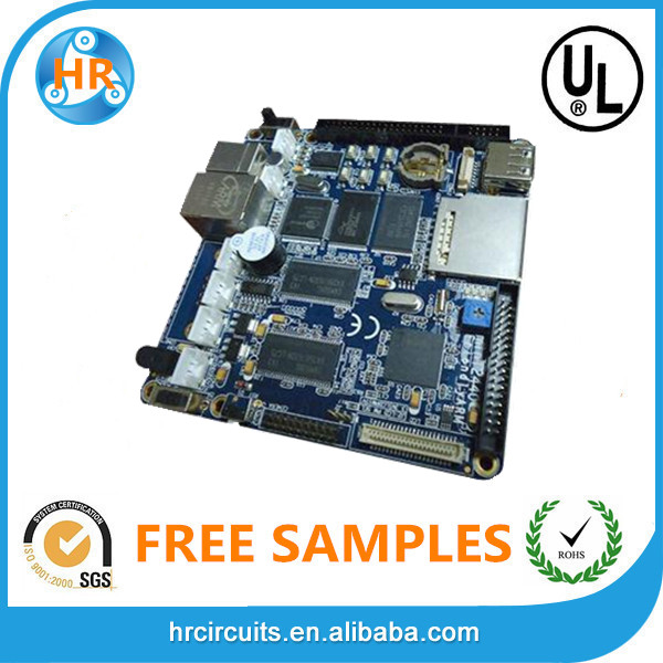 PCB professional manufacturer producing 2 layer laptop pcb, blank circuit board