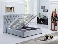 Gas lift bed frame for home, hotel and showroom