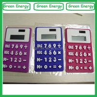 Cheap price silicone calculator ,promotion calculator