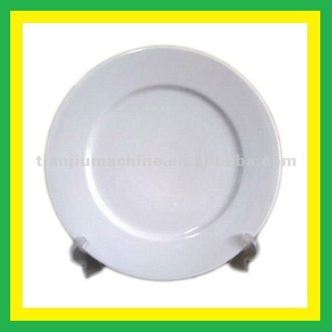 Blank heat transfer Ceramic Plate