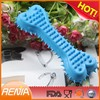 RENJIA Promotion silicone dog bone dog pet toys dog bone training toy