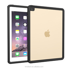 Clear Full-sealed Waterproof Case for iPad Air 2, TPU Protective Case Cover for iPad Pro 9.7/iPad Air 2