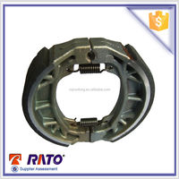 2015 professional CG125-A tricycle brake shoes in chongqing dirt bike and good coefficient brake shoes.