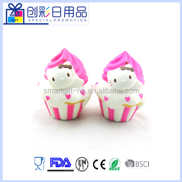 Slow Rising Mini Squishy Ice Cream Toy Cute Cellphone Bag Strap Pendant Charms