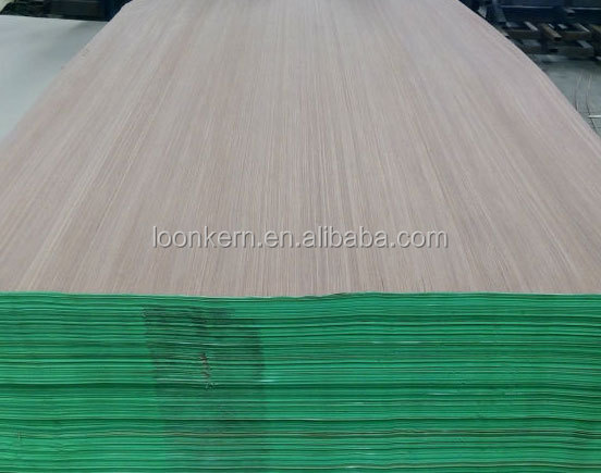 white engineered veneer / recon poplar veneer for plywood face and back