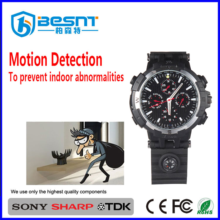 High resolution P2P WIFI camera Watch 720p wireless motion detection email alarm BS-S26W