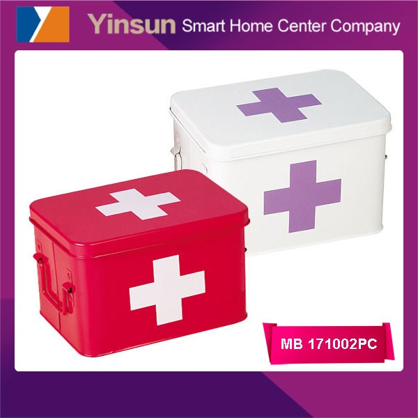 Best sell homeuse empty first aid kit boxes