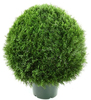 2016 Hot Sale UV Resistant Plastic Cypress Topiary for Outdoor
