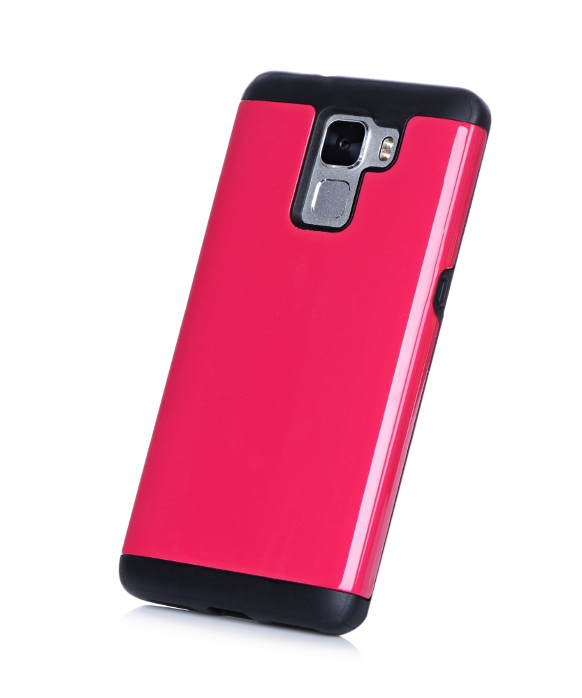 Wholesale Cheap Price Back Cover PC+TPU Mobile Phone Cover Case For Huawei honor 7