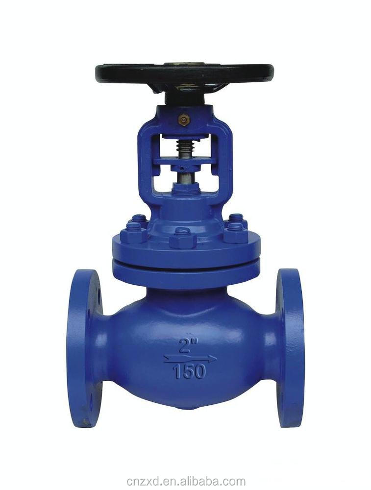 API600 Cast Steel Bellow Seal Globe Valve