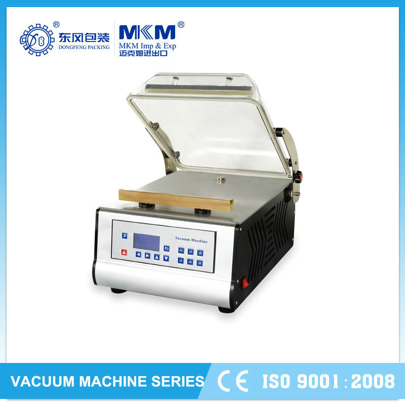 2015 semi automatic commercial chicken vacuum packing machine for supermaket DZ-300T