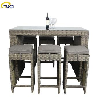 Garden furniture outdoor dining table set garden living room furniture coffee table set garden patio table set