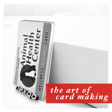 Gold/silver stamp matte/frosted finish printing plastic card/ Chrismas gift cards