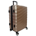 ABS PC gold hard case luggage 4 wheel suitcase
