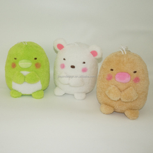 Lovely new design funny plush stuffed animal dolls