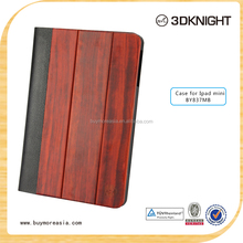 Wood tablet case , 2015 Hot new product wood tablet case for ipad mini