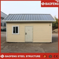 new style wood plastic composites prefab houses