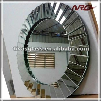 Large round decorative mirrors buy large round for Large round decorative mirror