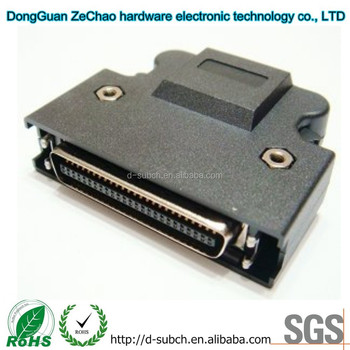 SCSI Mdr Hpcn 50pin Cable Connector,250VAC Voltage Rating