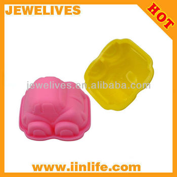 mini car shape silicone ice cube mold