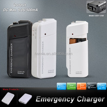 wholesale cheapest AA battery emergency charger for iPhone Galaxy