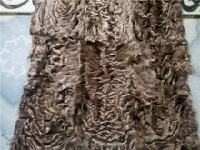 2017Factory price Jingao Tientsin real lamb fur fabric plate dyed curly hair pelt blanket rug