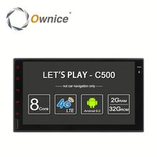 Ownice Android 6.0 touch screen Stereo Car DVD Radio for nissan double universal with dvd wifi bluetooth GPS rds