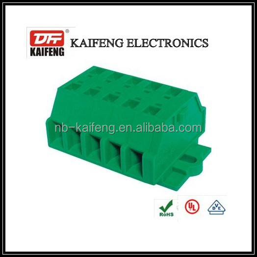 green 6.0mm spring clamp terminal block