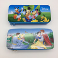 New Style Colorful Tin Zipper Pencil Case With High Quality