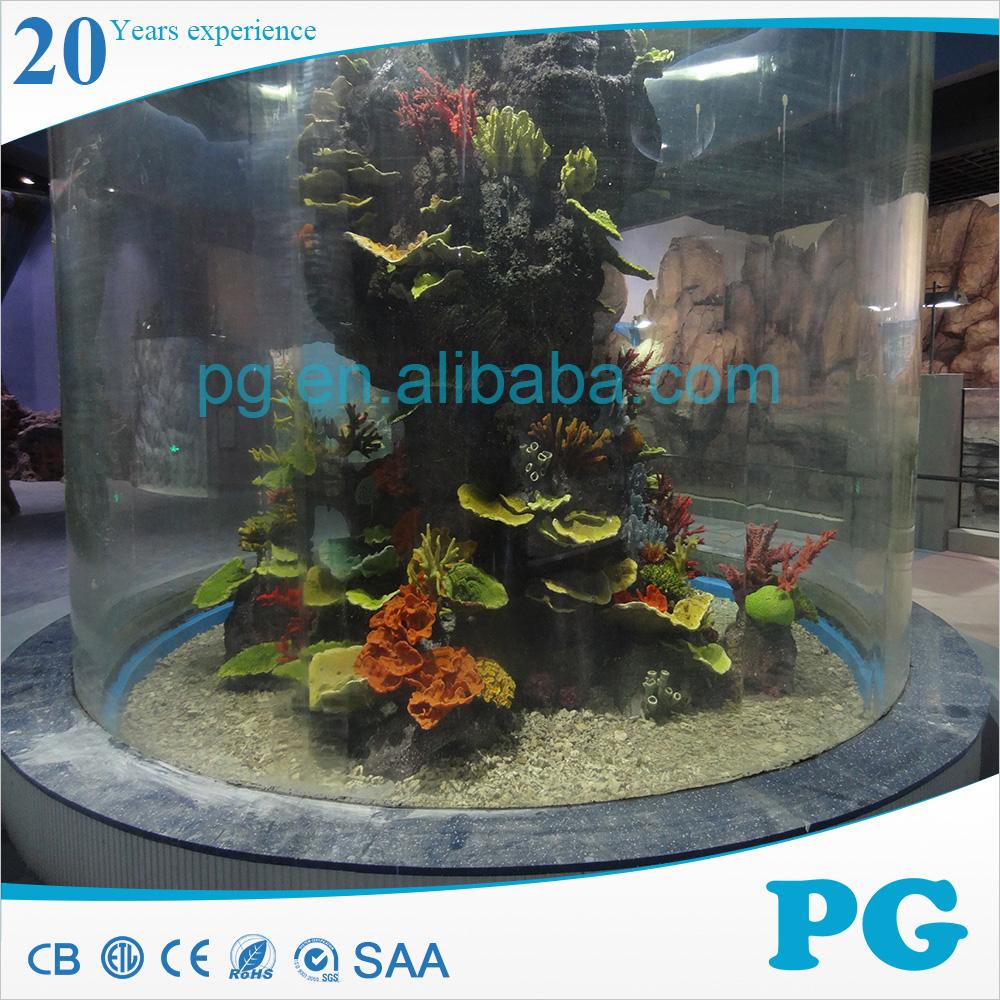 Pg Large Round Acrylic Aquarium Buy Acrylic Aquarium