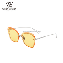 womens heart floating sunglasses trendy