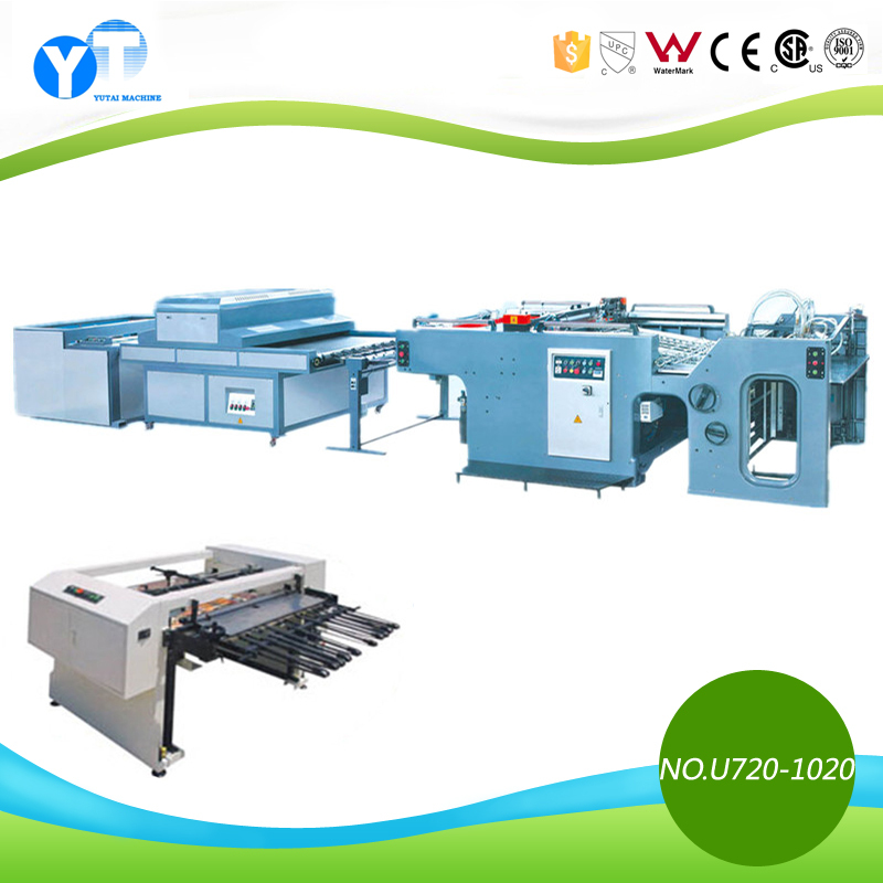 YT Automatic Silk Screen Printing Machine connect UV Dryer