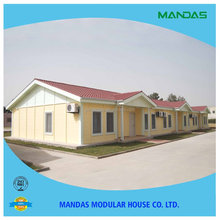 Low cost Environmental Friendly EPS Prefab House with Equipment