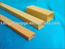 pvc square tube /PVC rigid square pipe/tube (hot)