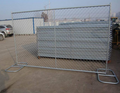 USA market portable 6*12 feet galvanized chain link temporary fence