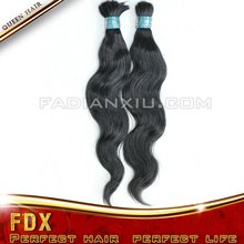 raw material AAA Grade 100% human hair bulk brazilian hair extension body wave deep curly straight