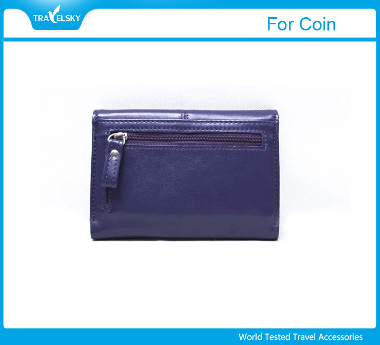 2017 Design Palm Clutch RFID blocking Leather Woman Wallet