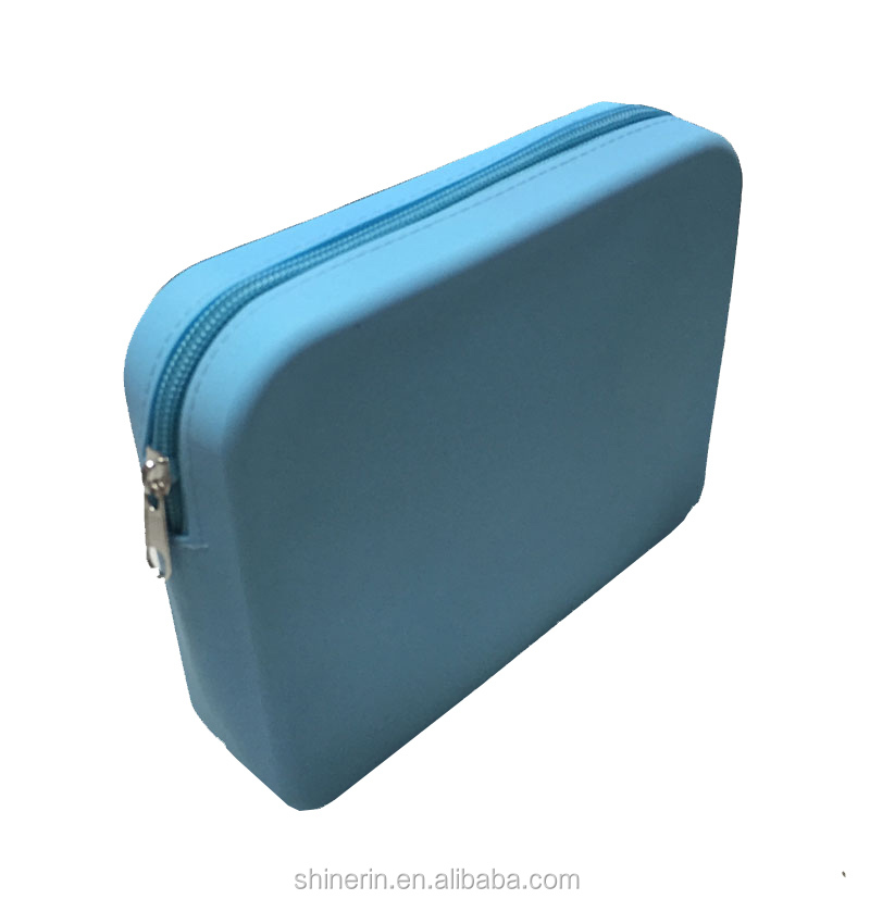 Factory wholesale custom travle wash cosmetic bag silicone toilet bag