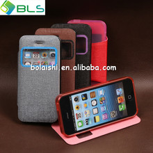 Half hyaline TPU case for iphone 5 stand flip cover case for iphone 5 otterboxing for iphone 5 case