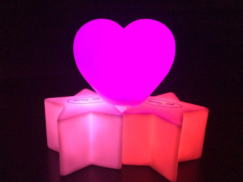 Novelty colorful led night light for kids