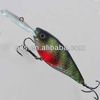 New Led Plastic Fish Lure Sigal Light In Water Buy Light