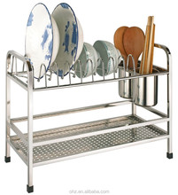 free standing commercial stainless steel kitchen dish Rack / Kitchenware Dish Drying Rack / Dish Drainer 328
