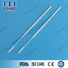 Nylon flocked bud and long handled Disposable sterile cervical swab