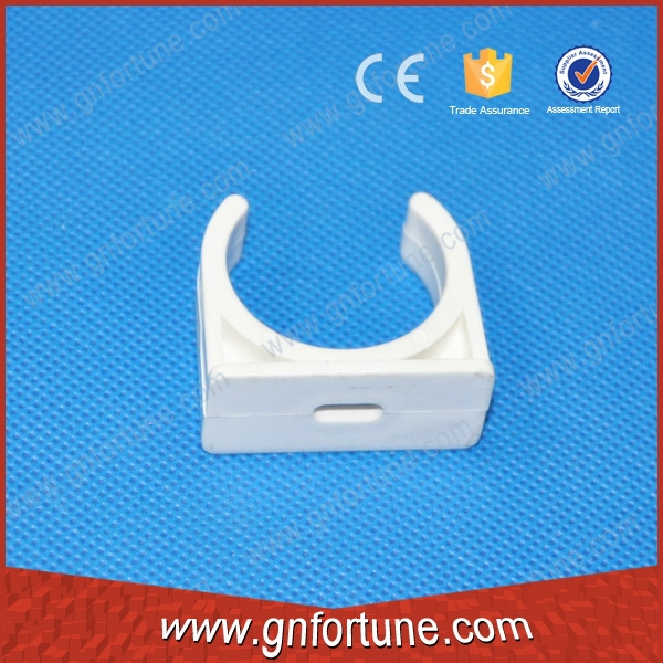 Rigid PVC electrical pipe fittings clamp plastic