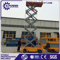 loading 500kg widely used folding grove hidrolik hydraulic manlift