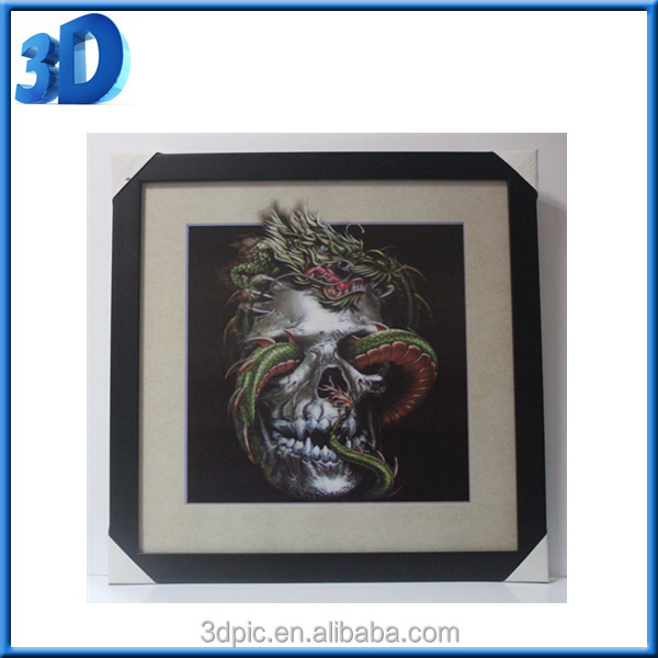 New arrival ! cute quaint custom design china 3D advertising lenticular picture
