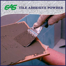 grey cementitious powder tile adhesive