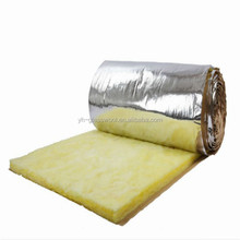 Glass wool roll heat insulation for building roof and wall
