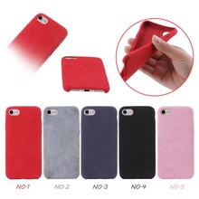 5 Colors Available,Solid Color Three Pack Edge Super-fiber Soft TPU Case for iPhone 7,Back Cover for iPhone 7