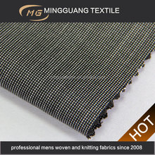 2015 the newest design polyester viscose woven shiny suiting ikat fabric
